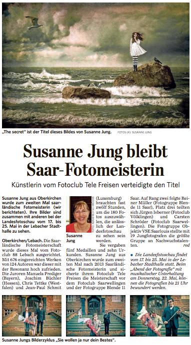 saarbrücker zeitung - lokales vom 16.05.2014